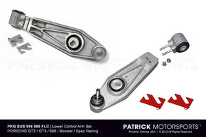 PORSCHE GT2 GT3 LOWER CONTROL ARM SET BOXSTER SPEC 986 996- SUS996341986FLCPMS