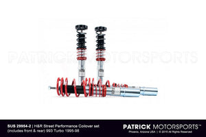 H&R STREET PERFORMANCE COILOVER SET 993 TURBO 1995-1998- SUS299542