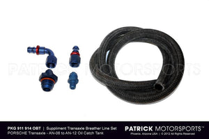 TRANSMISSION BREATHER LINE SYSTEM TO OIL CATCH TANK- TRA911914OBT