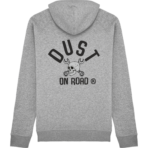 Sweat Capuche Homme Skull - Dust On Road - DUST ON ROAD