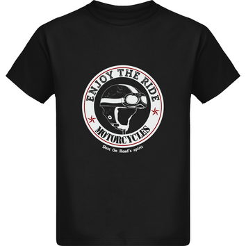 Tee Shirt Garçon Stanley  - Motorcycle - Dust On Road - DUST ON ROAD