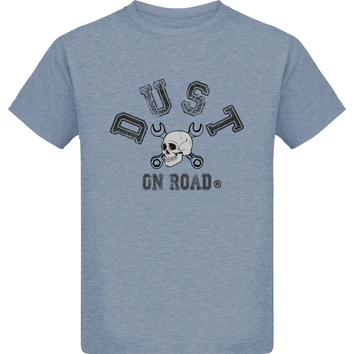 Tee Shirt Garçon - Skull - Dust On Road - DUST ON ROAD