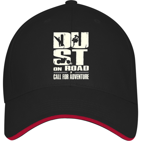 Casquette Brodée Dust On Road - Call for Adventure - DUST ON ROAD