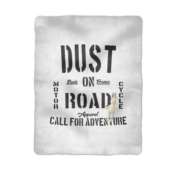 MOTORCYCLE ADVENTURE - Couverture bébé Rider - DUST ON ROAD