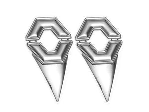 Pyramid Shaped Badu Earrings