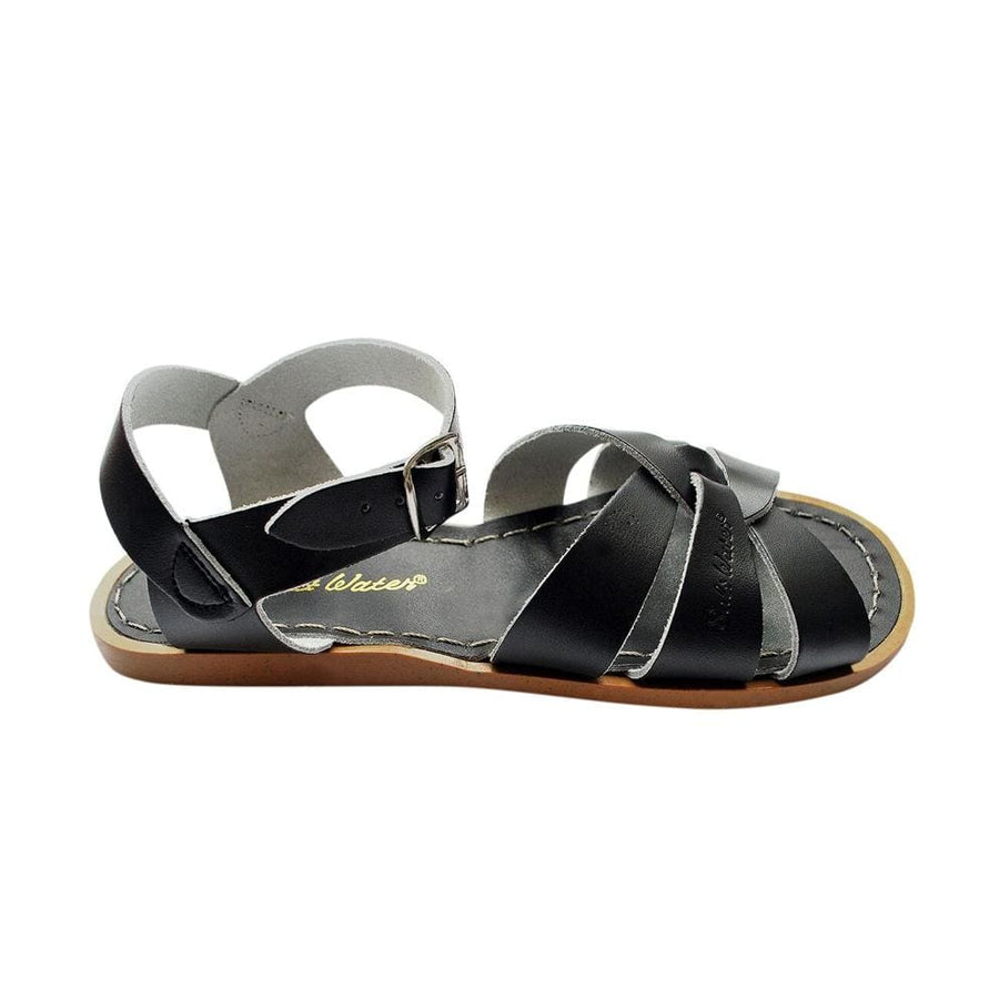 Salt-Water Sandals Original svart sandal