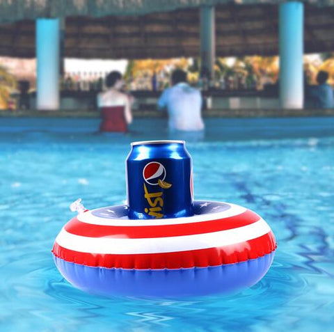Inflatable Pool Coaster: American Flag