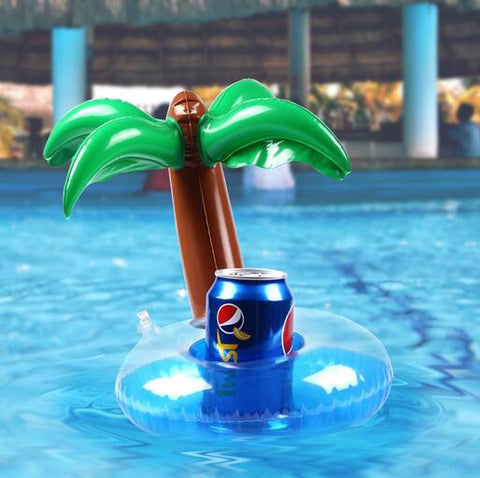 Inflatable Pool Coaster: Palm Tree