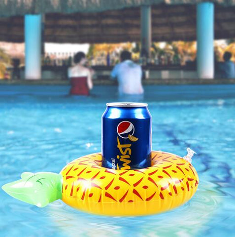 Inflatable Pool Coaster: Pineapple