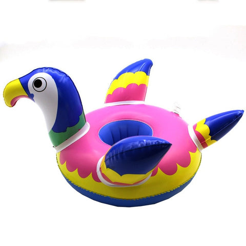 Inflatable Pool Coaster: Parrot