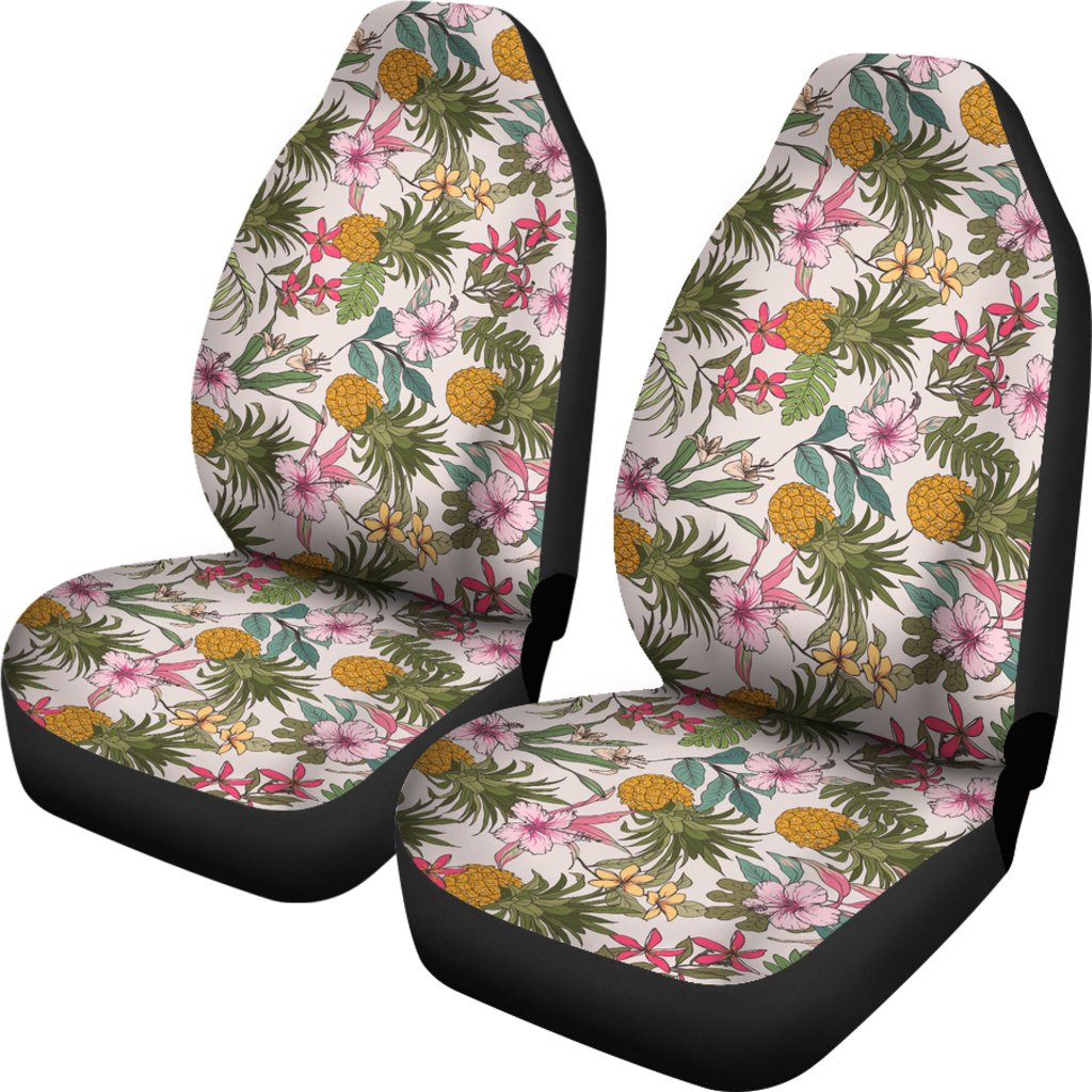 Hawaiian Car Seat Covers >> Hawaii Tropical Pineaapple Car Seat Cover Ah J7