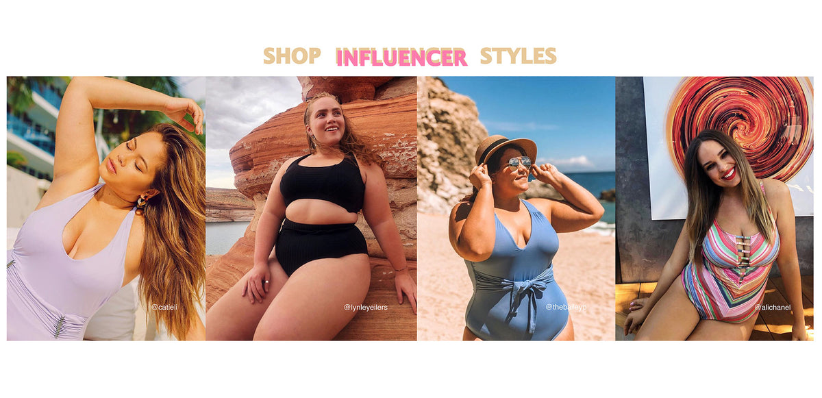 Plus Size Swimwear - Influencer Collection - BECCA ETC