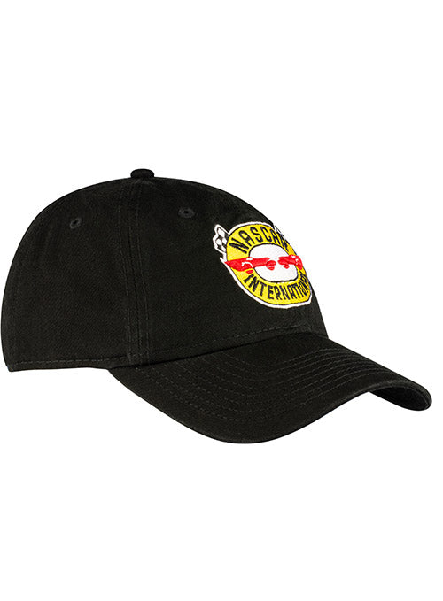 NASCAR Vintage Logo Black Unstructured Hat