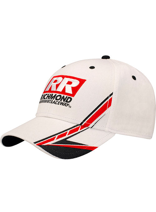 Richmond Raceway Structured White Hat