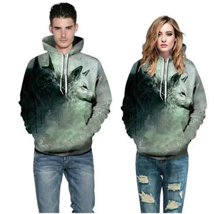 Sweatshirts Double Wolves Unisex Pullover