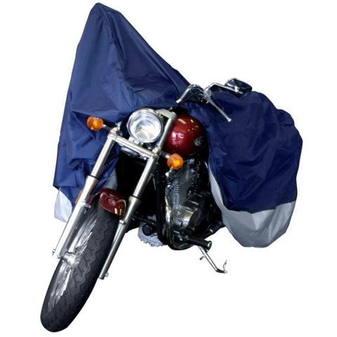 Dallas Manufacturing Co. Motorcycle Cover - Large - Model A Fits Models Up To 1100cc With or Without Accessories - Automotive/RV