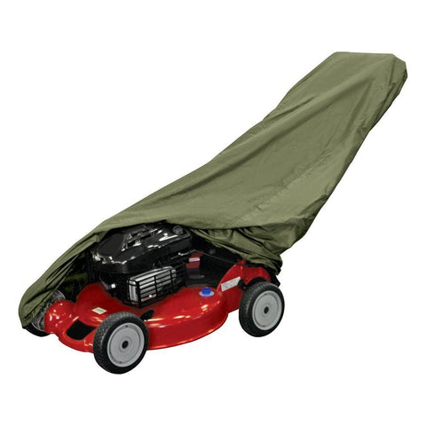 Dallas Manufacuring Co. Push Lawn Mower Cover - Olive - Automotive/RV