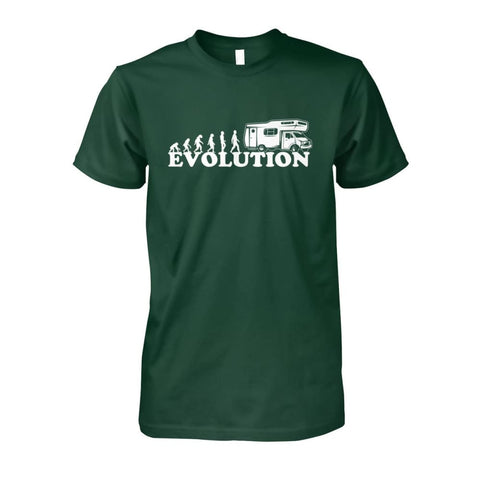 Evolution Camper Tee - Forest Green / S - Short Sleeves