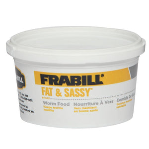 Frabill Fat & Sassy Worm Food - Outdoor