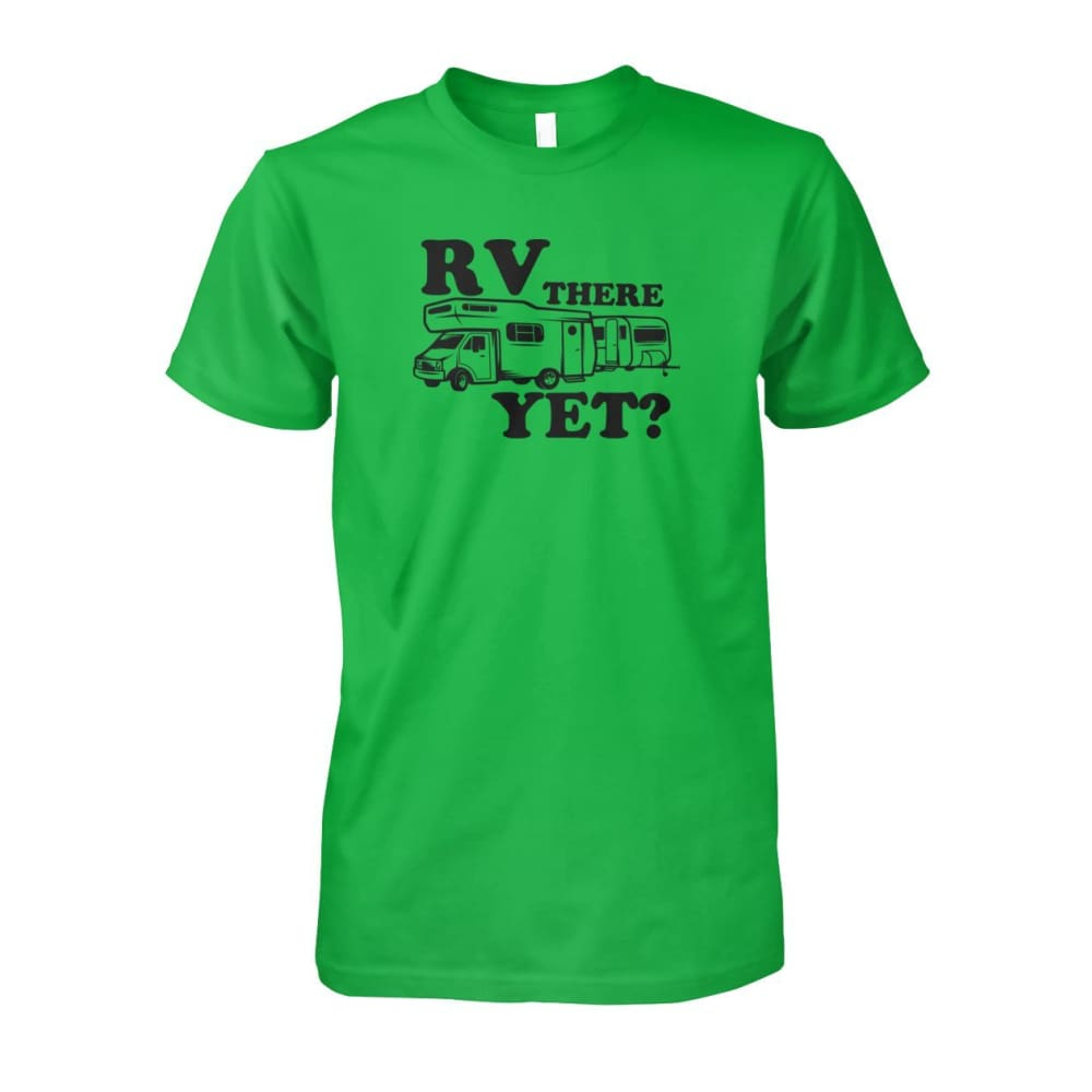 RV There Yet Tee - Electric Green / S - Short Sleeves