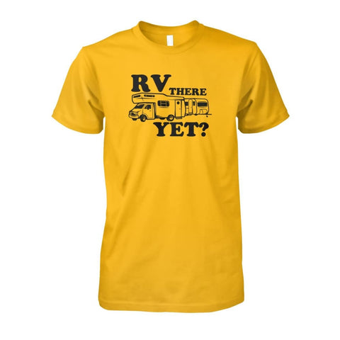 Image of RV There Yet Tee - Gold / S - Short Sleeves