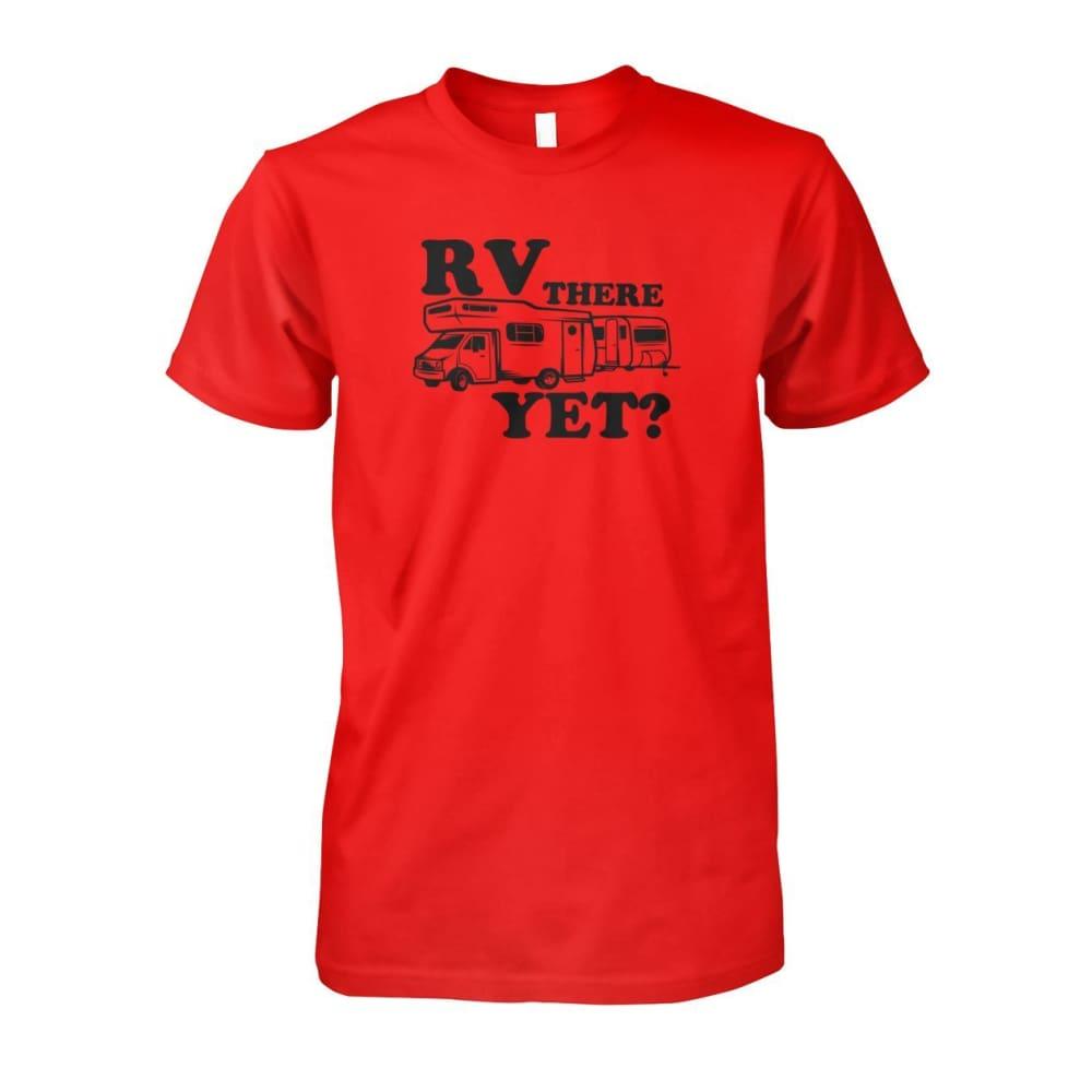 RV There Yet Tee - Red / S - Short Sleeves