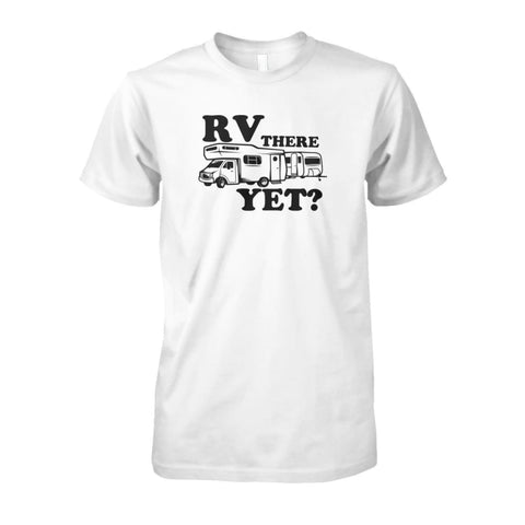 Image of RV There Yet Tee - White / S - Short Sleeves