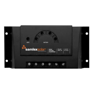 Samlex Charge Controller w-LED Display - 12V-24V - 20A - Outdoor