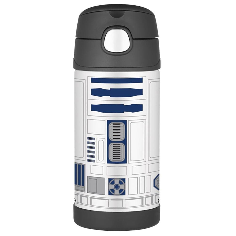 Thermos FUNtainer Stainless Steel Insulated Straw Bottle - Star Wars - 12 oz. - Outdoor