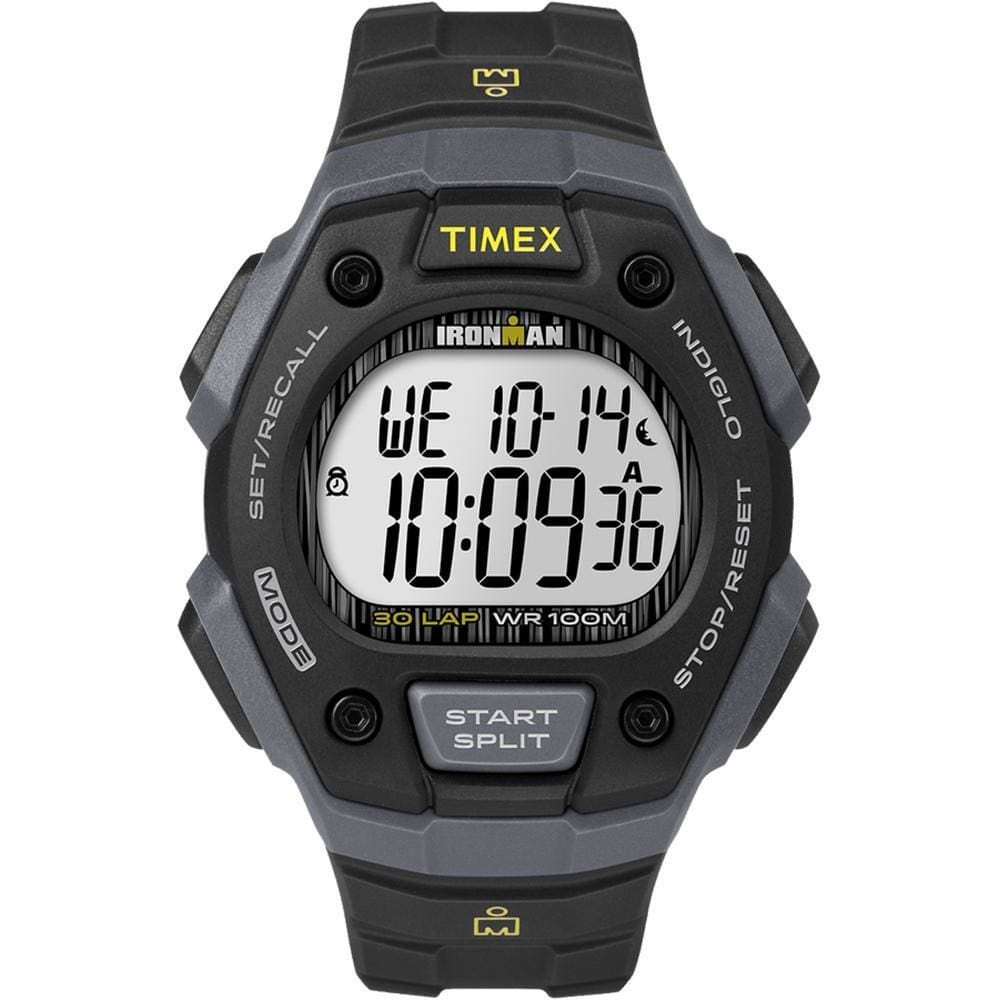 Timex IRONMAN® Classic 30 Lap Full-Size Watch - Black - Outdoor