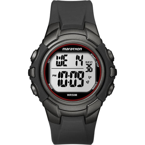 Timex Marathon Digital Full-Size Watch - Black-Gunmetal - Outdoor
