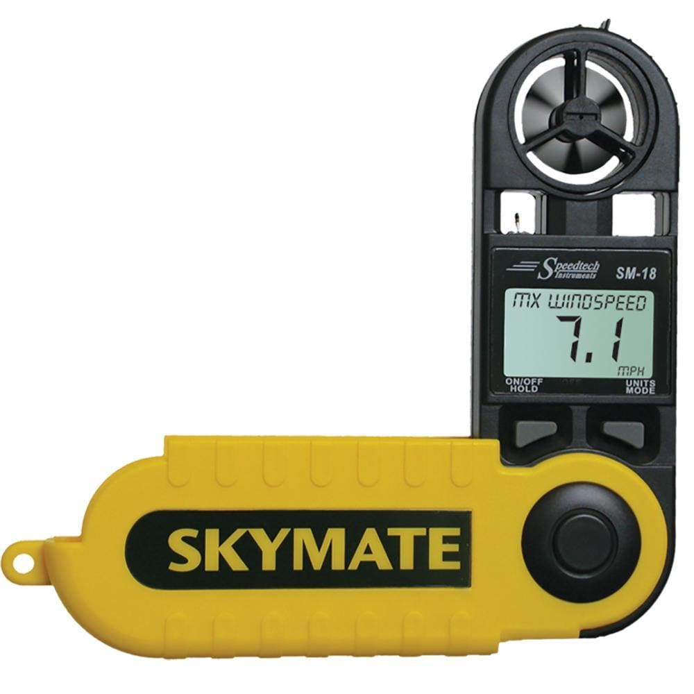 WeatherHawk SM-18 Skymate Wind Meter w-Temp & Wind Chill - Outdoor