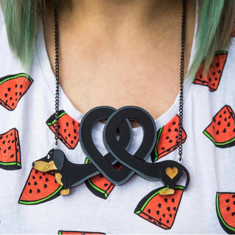 Dachshund - Love Necklace