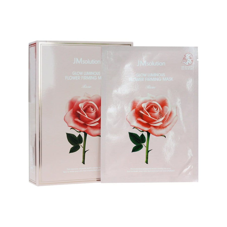 JMSOLUTION Glow Luminous Flower Firming Mask Rose - lamisebeauty