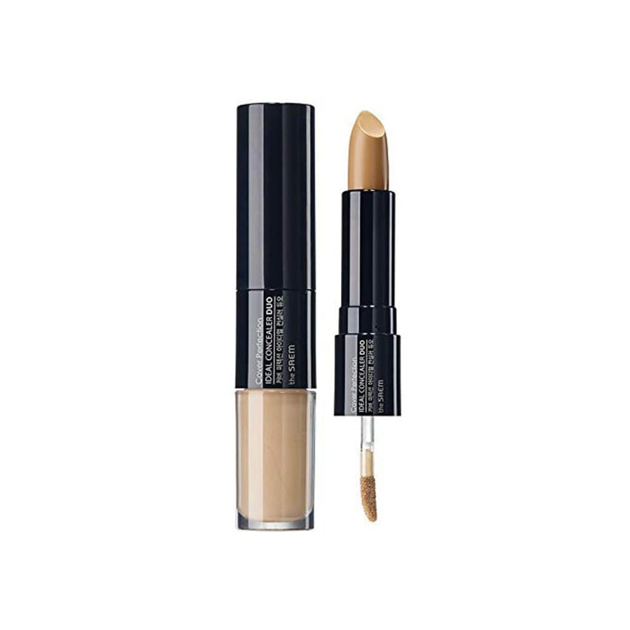 THE SAEM Cover Perfection Ideal Concealer Duo - 02 Rich Beige - lamisebeauty