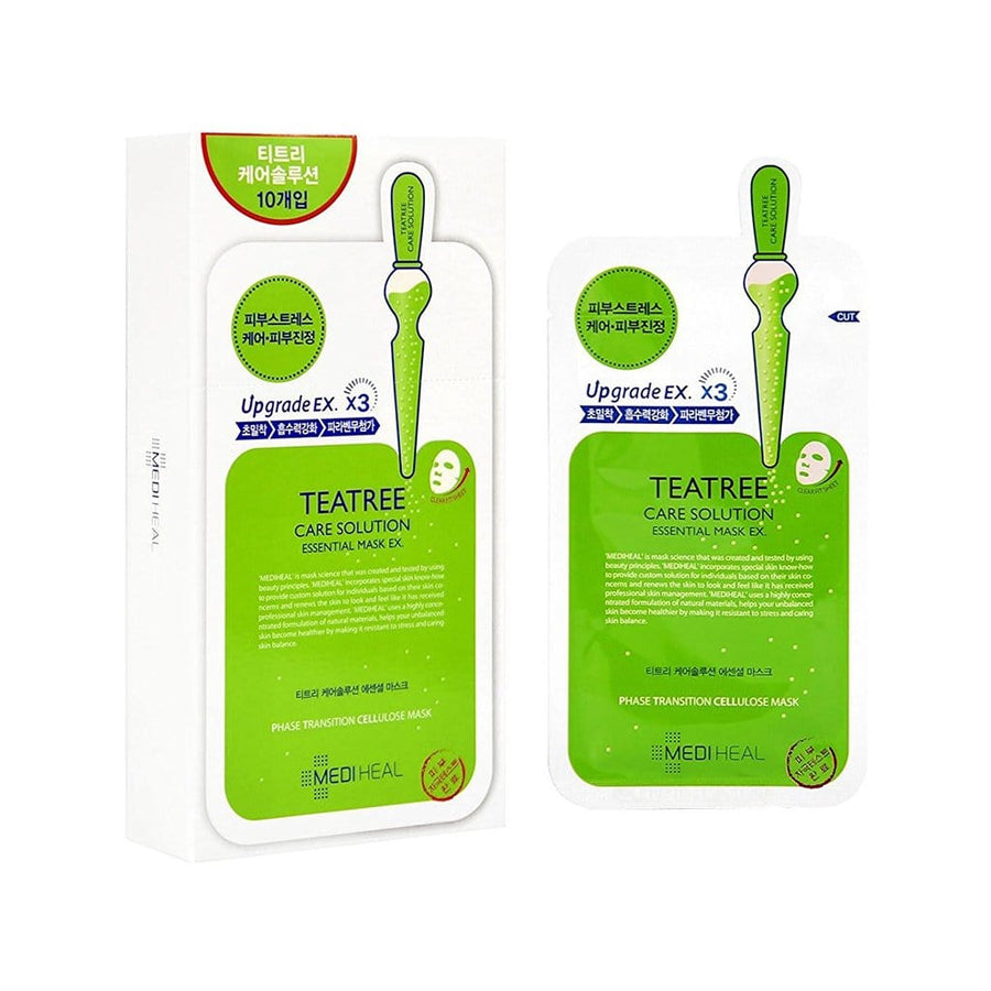 MEDIHEAL Teatree Care Solution Essential Mask EX. - lamisebeauty