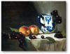 David A. Leffel: Painting The Still Life Peaches With Delft Mug