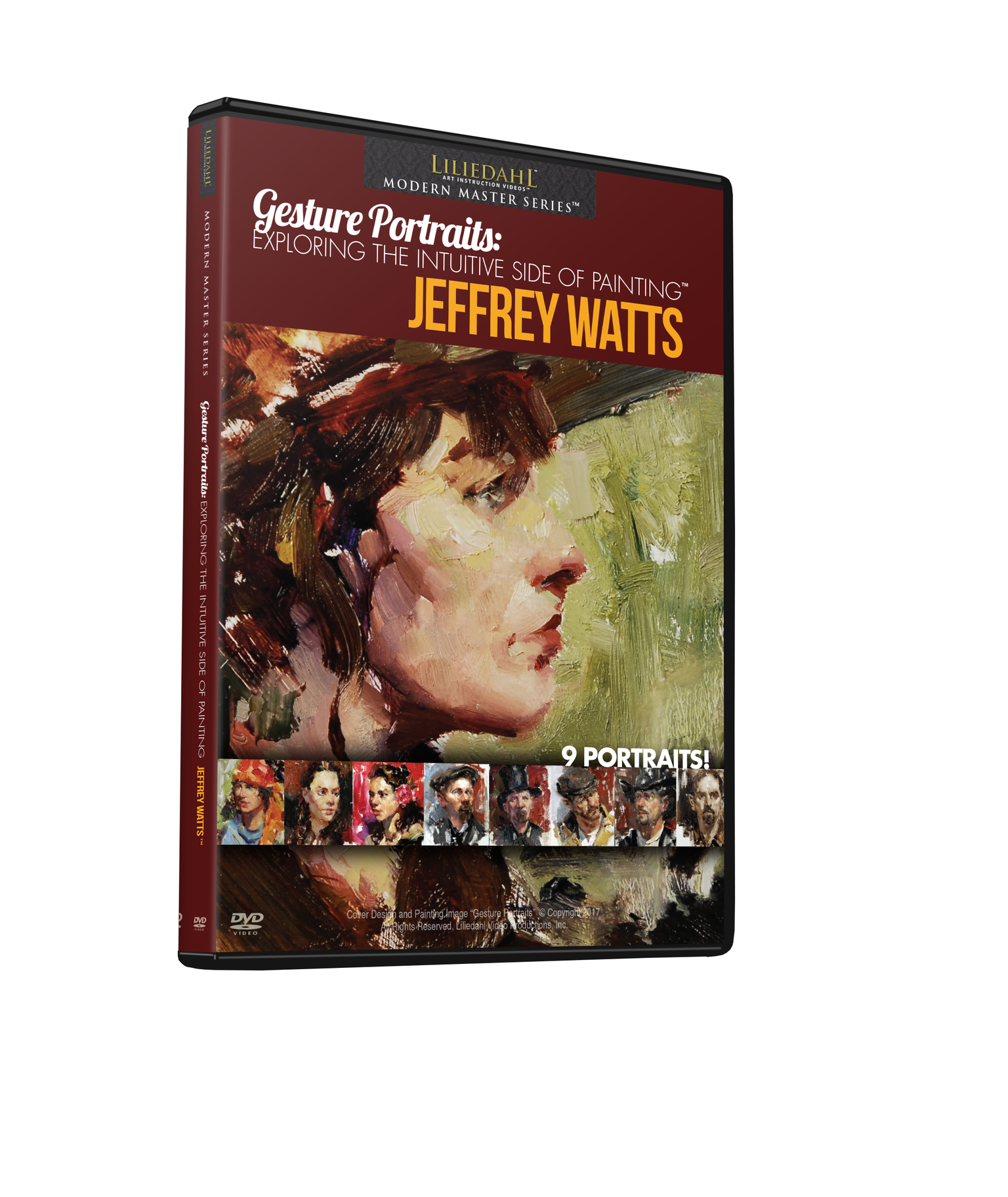 Jeffrey R. Watts: Gesture Portraits