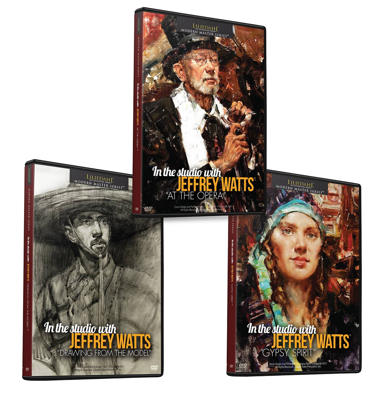 Jeffrey R. Watts: Portrait Bundle (3 Videos)