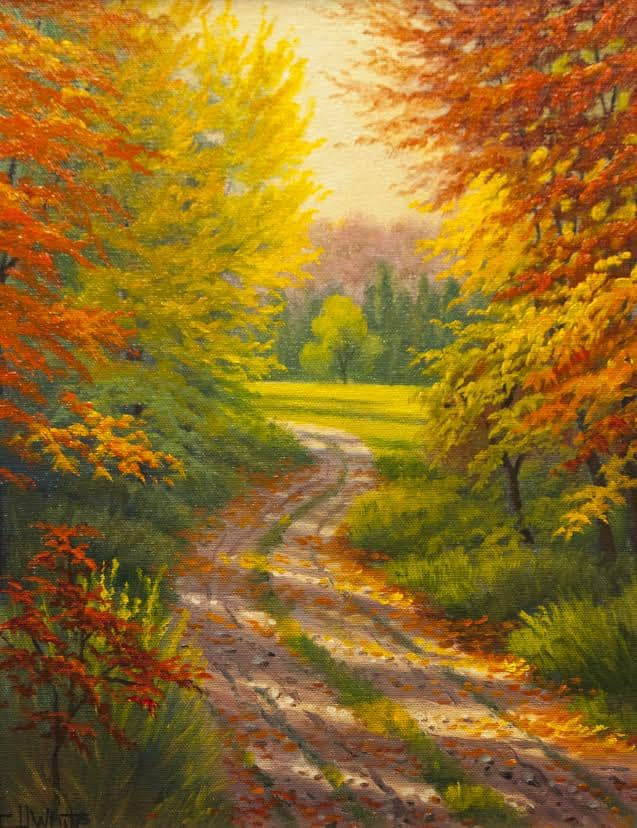 Charles H. White: Painting the Autumn Countryside