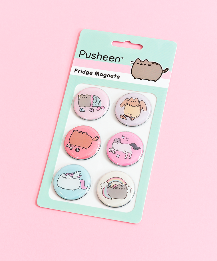 Pusheen Magical Kitties Magnet Set