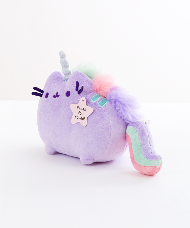 Mini Lilac Pusheenicorn Musical Plush Toy