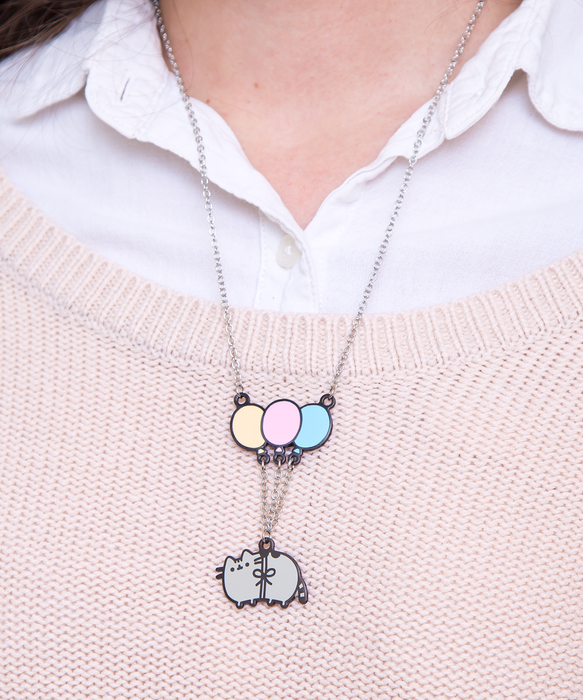 Balloon Pusheen Necklace
