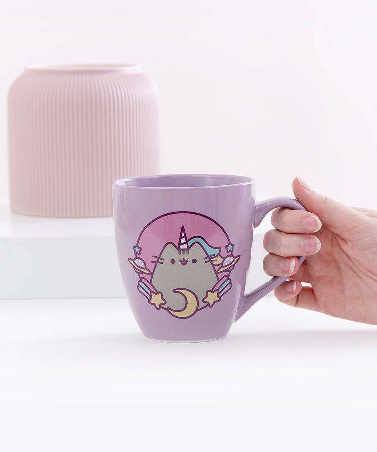 Purple Pusheenicorn Mug