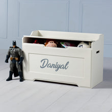 Load image into Gallery viewer, Boxford <br><i> <small>Toy Chest in White</i></small>