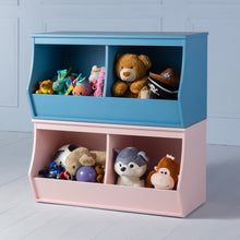 Load image into Gallery viewer, Khelo <br><i> <small>Toy Storage in Blue</i></small>