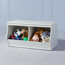 Load image into Gallery viewer, Khelo <br><i> <small>Toy Storage in White</i></small>