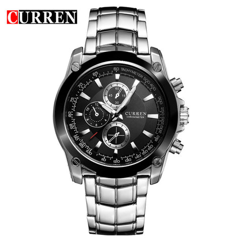 CURREN  Watches Men Luxury Brand Business Watches Casual Watch Quartz Watches relogio masculino 8025