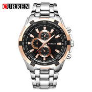 HOT2018 CURREN Watches Men quartz TopBrand  Analog  Military male Watches Men Sports army Watch Waterproof Relogio Masculino8023