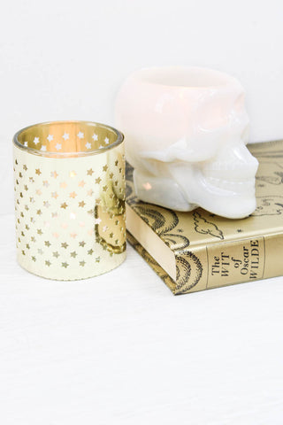 Gold Star Tea Light - little-lies-uk
